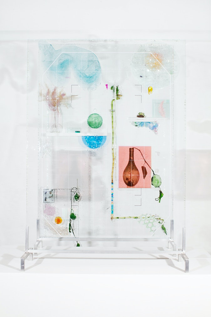 Artwork – To Be Looked at (from One Side of the Glass) with Two Eyes, Close to, for Almost an Hour (After Duchamp), 2019