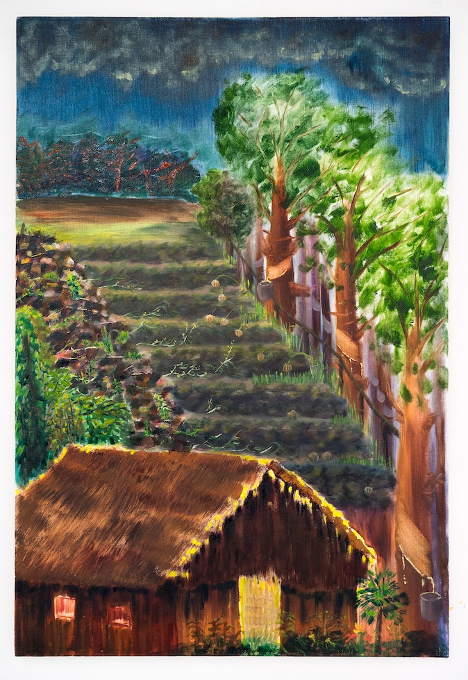 Artwork – Scenes from the Old Abandoned Rubber Plantation 02, 2019