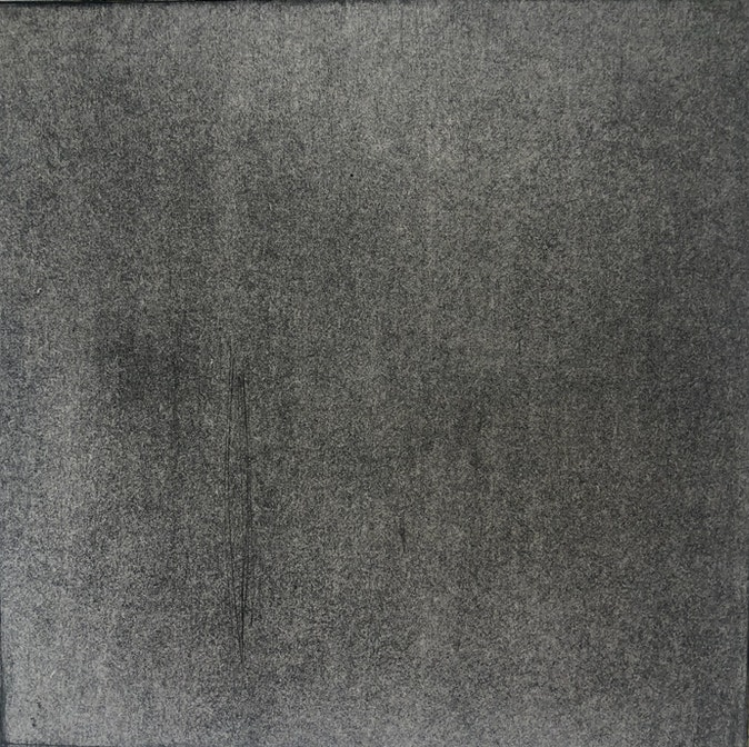 """Artwork – CHOSEN FAMILY drawing 010, based on the piece """"4'33"""""""" by composer John Cage, 2021"""