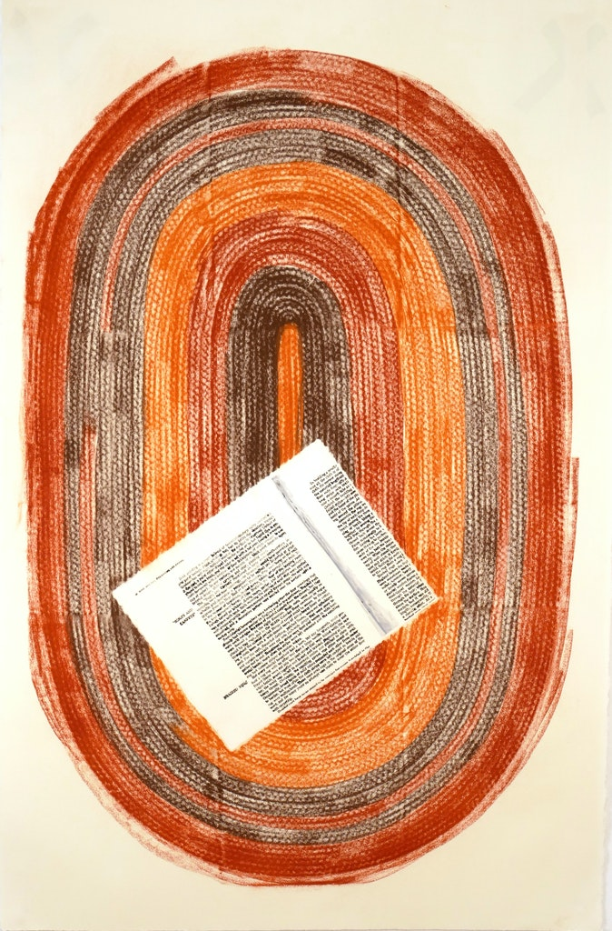 Artwork – Contingencies (Rug with instructions for its own making), 2019