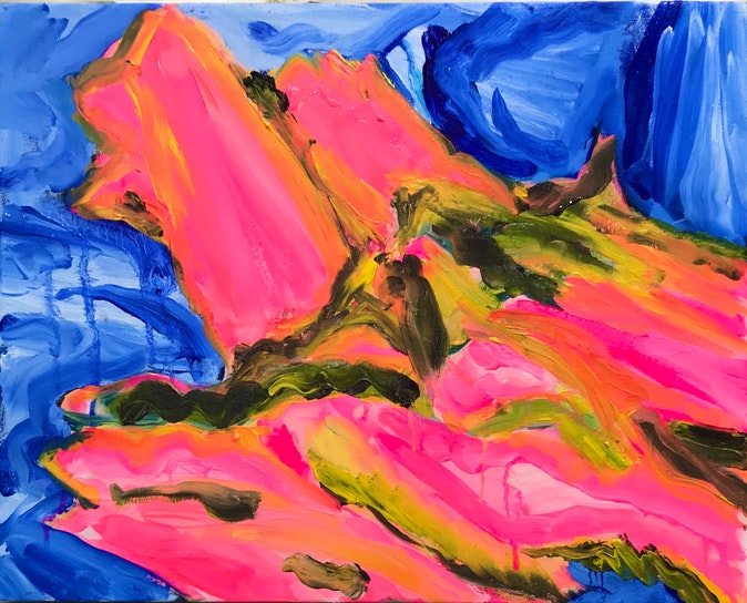 Artwork – Pink and Blue, 2020
