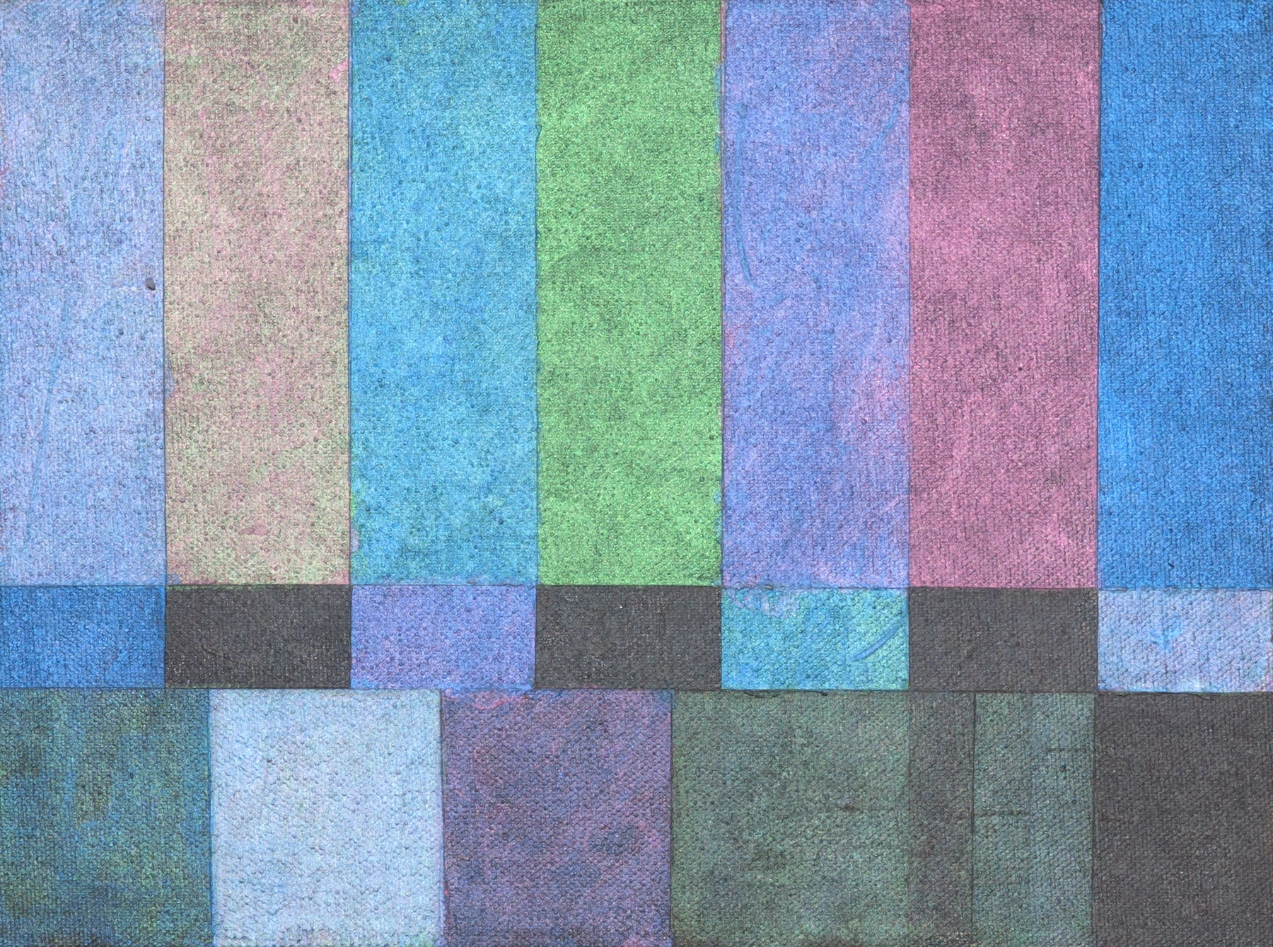TV Screens NTSC RGB 1 out of 6, 2017 by Davide Cantoni