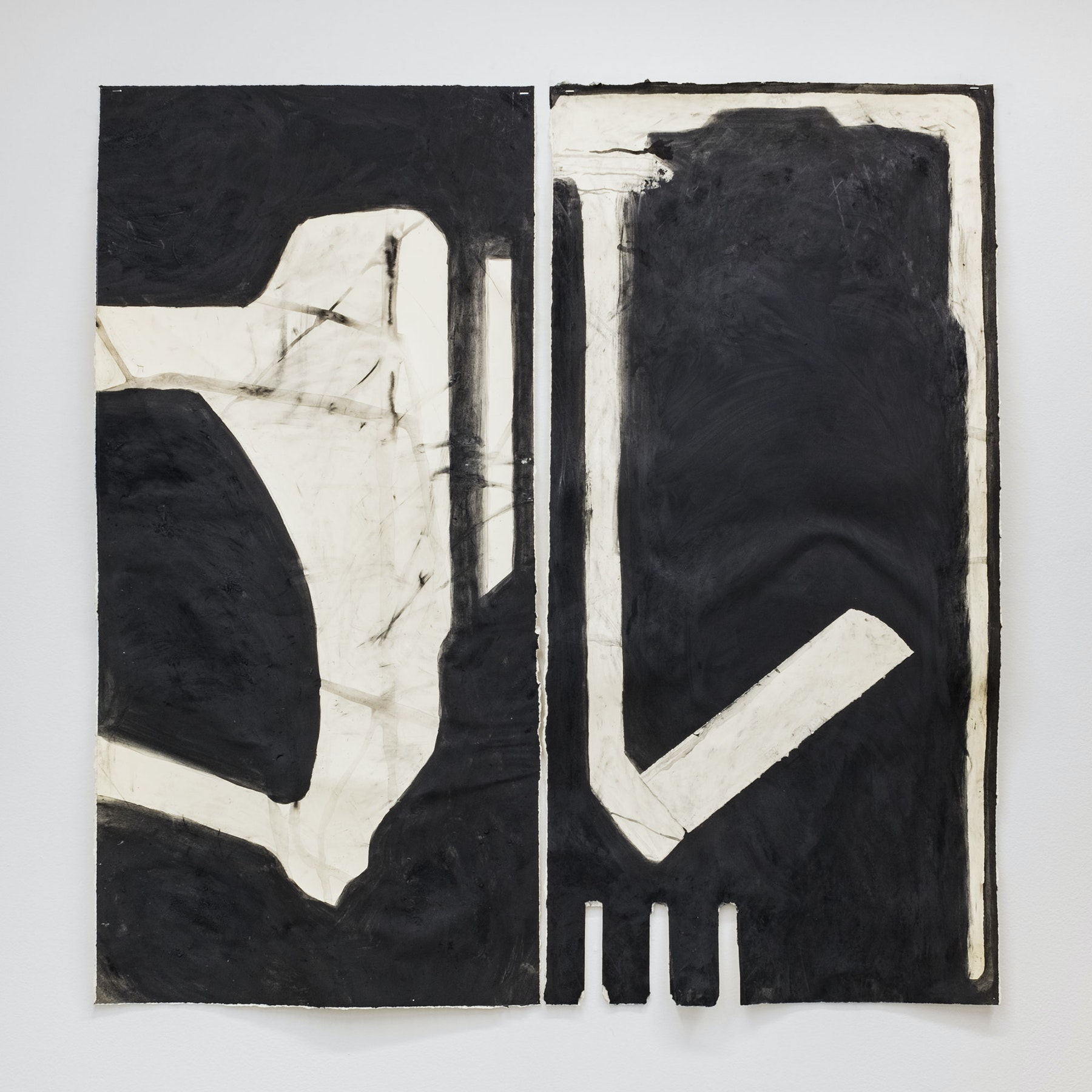 Aerial Map No.3, Diptych for Two Performances by Kara Rooney