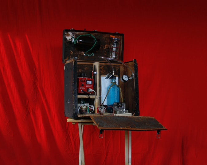 Artwork – Portable Reactor I: Experiments In Star Formation, 2019