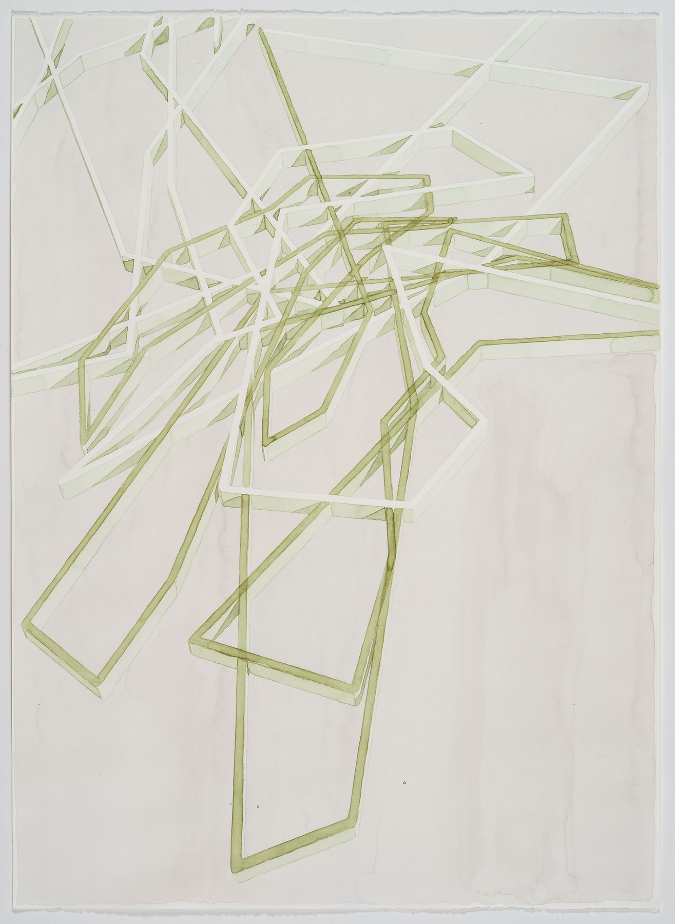 Soy Drawing 9 (organic) by Rob Carter