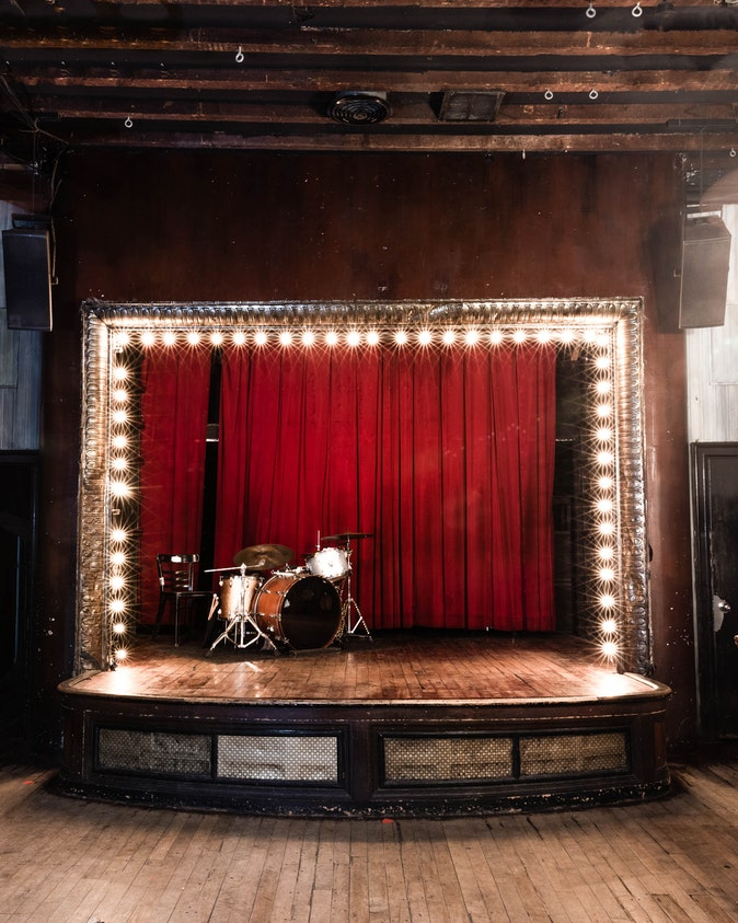"""Artwork – Stage from the series """"The Lost Happy Hours"""", 2020"""
