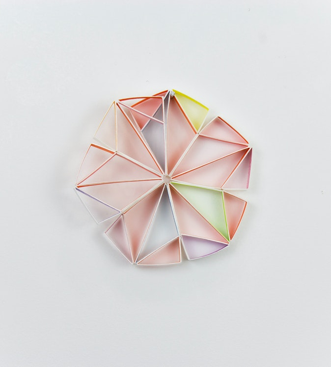 Artwork – Improvisation #1 for Partial Equilateral Triangle (Diamond), 2018