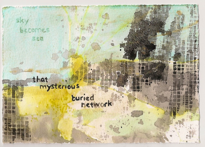 Artwork – that mysterious buried network, 2020