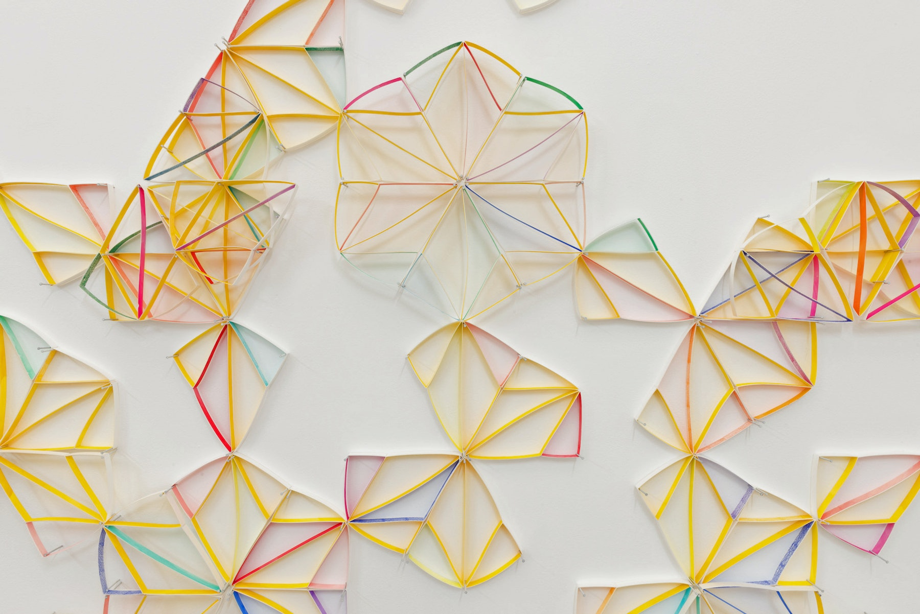 Partial Equilateral Triangle (Diamond) by Alex Paik
